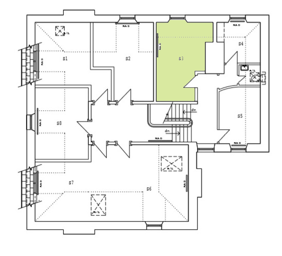 Second Floor Plan-S3